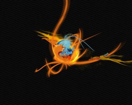Burning Firefox