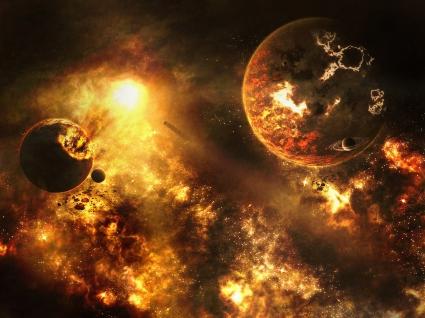 Burning Universe