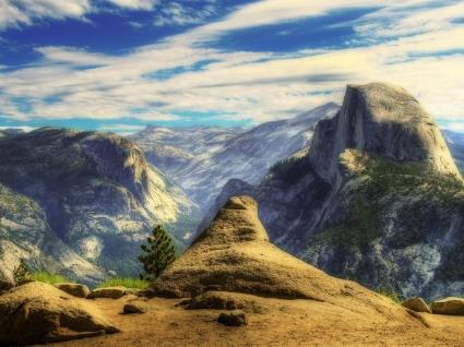 California mountains Wallpaper United States World