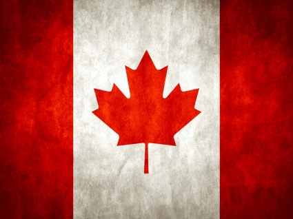 Canadian wavingr flag vector | free download.