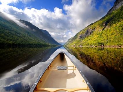 Canoeing Wallpaper Rivers Nature