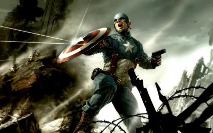 Captain America CG