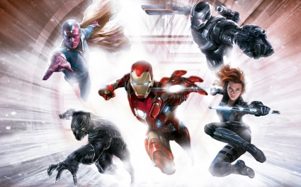 Captain America Civil War 4K