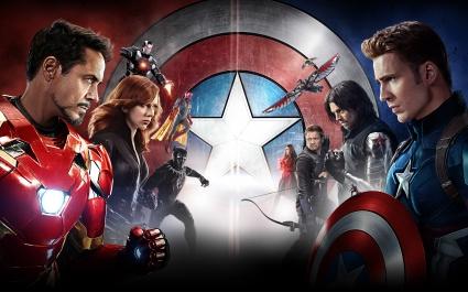 Captain America Civil War 5K HD