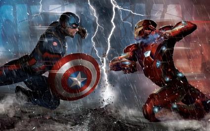 Captain America Civil War Concept 5K