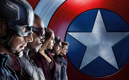 Captain America Civil War Team