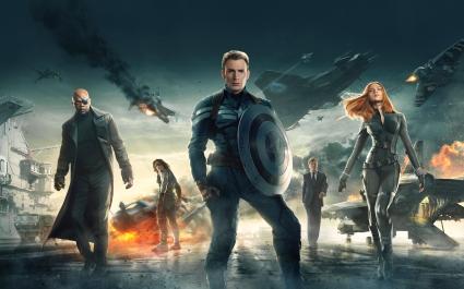 Captain America The Winter Soldier 2014