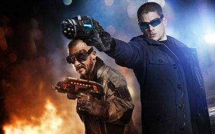 Captain Cold & Heat Wave The Flash