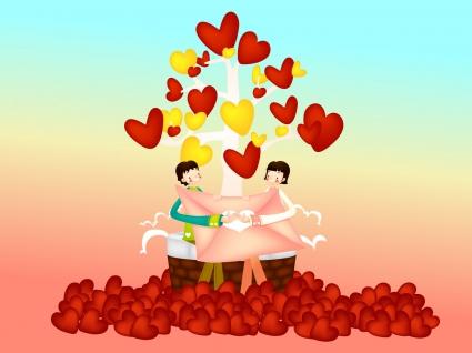Celebrating Valentines Day