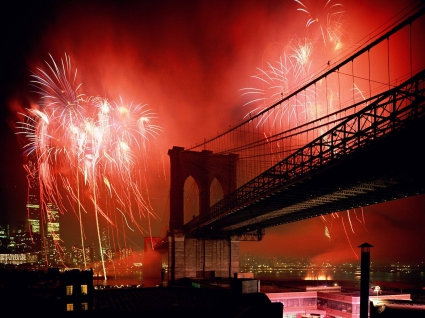 Celebration Brooklyn Bridge