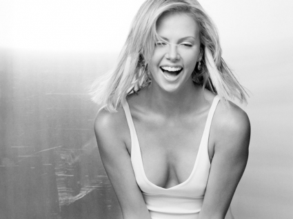 Charlize Theron Happy Wallpaper Charlize Theron Female celebrities