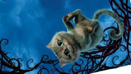 Cheshire Cat Alice Through the Looking Glass