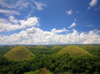 Chocolate Hills Wallpaper Philippines World