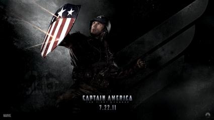 Chris Evans in Captain America 2011