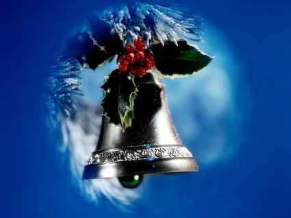 Christmas Bell Wallpaper Christmas Holidays