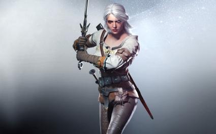 Ciri in The Witcher 3 Wild Hunt