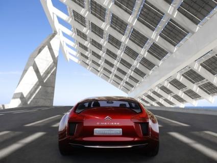 Citroen C Metisse Concept Back Wallpaper Concept Cars
