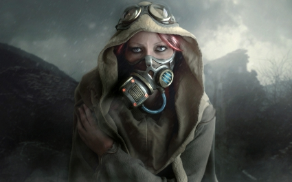 Cold Day Woman Mask