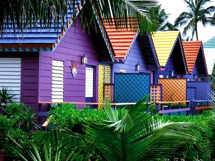 Colorful Houses, Bahamas