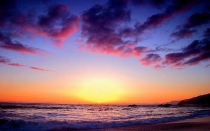 Colorful Sunset Twilight