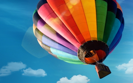Colorfyl Hot Air Balloon