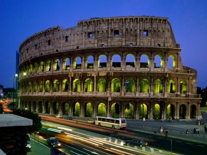 Colosseum Wallpaper Italy World