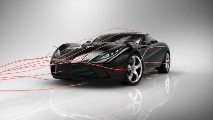 Corvette Mallett Concept Car