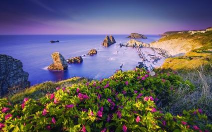 Costa Quebrada Cantabria Spain Coast