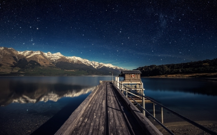 Countless Starry Lake Nghts