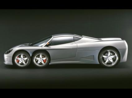 Covini C6W Side View Wallpaper Concept Cars