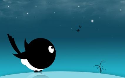 Creative Black Bird HD