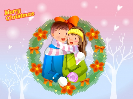Crown Christmas Couple