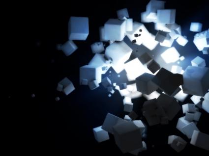 Cubes Wallpaper 3D Models 3D