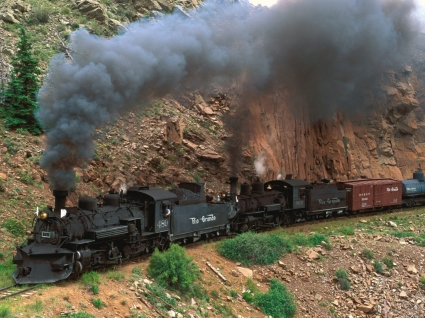 Cumbres and Toltec Steam Train Wallpaper Colorado World