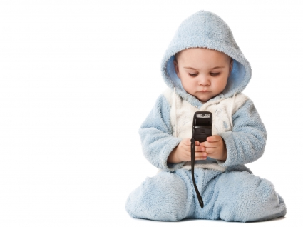 Cute Baby Boy Mobile