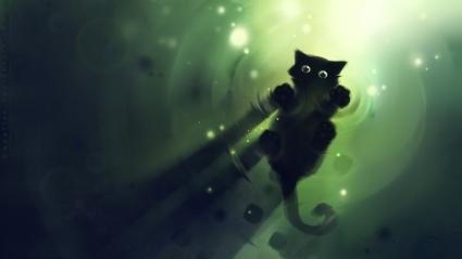 Cute CG Cat