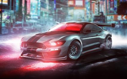 Cyclops Ford Shelby Mustang GT350R X Men