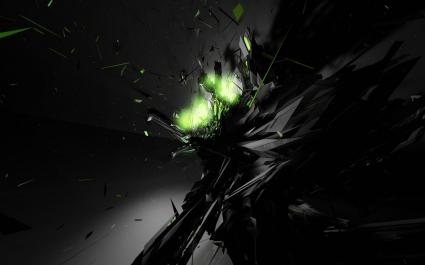 Dark Explode Abstract