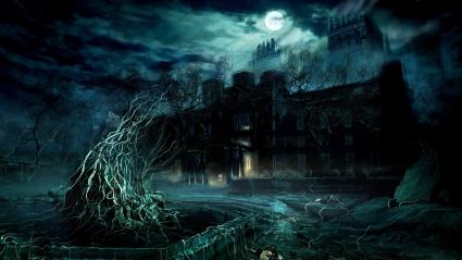 Dark Game Scene