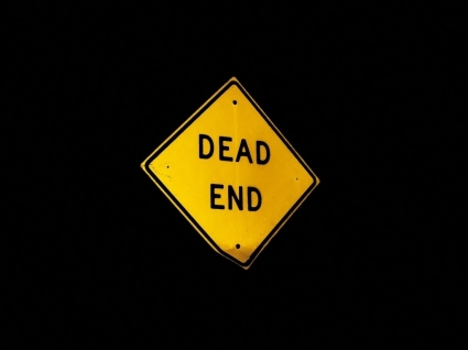 Dead end Wallpaper Abstract 3D