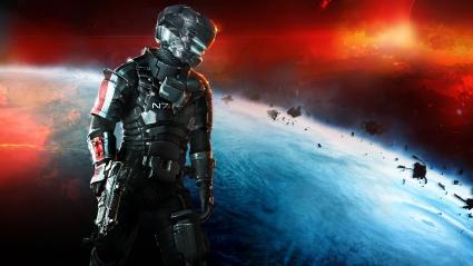 Dead Space 3 Mass Effect N7 Armor
