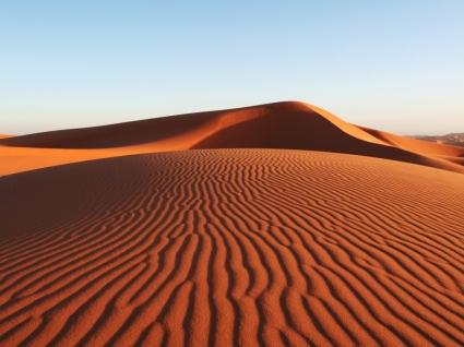 Desert Sand Dune Wallpaper Landscape Nature