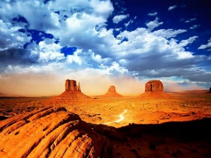 Desert Wallpaper Landscape Nature
