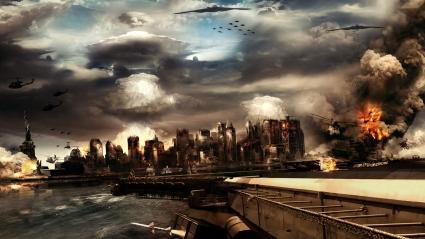 Destruction Game Scene