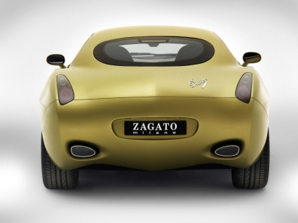 Diatto by Zagato Back View Wallpaper Concept Cars