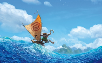 Disney Moana 2016 Animation