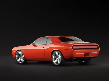 Dodge Challenger Concept Side Wallpaper Concept Cars