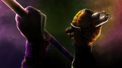 Donatello Michelangelo TMNT 2014