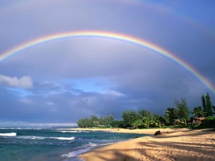 Double Rainbow Wallpaper Landscape Nature