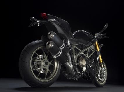 Ducati Streetfighter Rear
